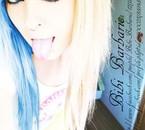 blue emo scene hair style girl bibi barbaric