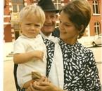 Ma femme Monique et mon fils Frédéric