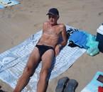 sur la plage cote face