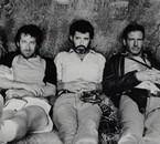 Steven Spielberg, George Lucas, Harrison Ford