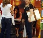 Duffy à l'aéroport après le V Festival à Perth, Australie, en 2009 : Photoshoot