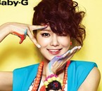 Sooyoung pour Baby-G
