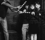 """Sur le tournage de """"Harry Potter à l'Ecole des Sorciers"""""""