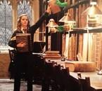 Emma Watson sur le tournage d'Harry Potter 6