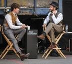 Eddie Redmayne & Jude Law sur le plateau des AF Partie 2