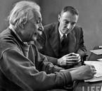 1947, Albert Einstein & Robert Oppenheimer