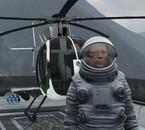 Neil Armstrong et son hélico préféré...