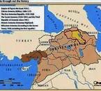 greater armenia carte map kavkaz armenian urartu caucasus