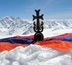 armenie flag cross original armenienne church drapeau arméni