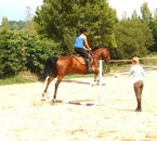 Saut d'obstacles♥