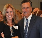 David Decker with Mitt Romney