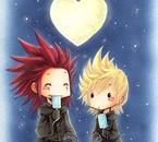Akuroku sous le clair de lune !