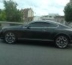 Bentley Continental GT vue sur le Periph'