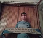 Fier de supporter l'Olympique de Marseille et fier de mes couleurs