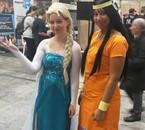 Elsa (moi) et Zia (Annick)