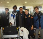 Romana et l'équipe de coupe davis