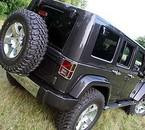 jeep vue de l'arrière