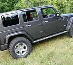 jeep vue de côté droit