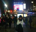 moi et le Madison Square Garden derrière