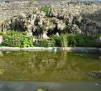 Bassin au chateau de Gerbeviller