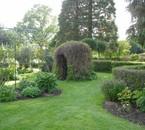 Jardin du chateau de Gerbeviller