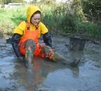 Moi, la boue c'est mon kiff ! mais bottée et plastifiée