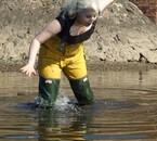 Oups...le fond de l'eau est mouvant !
