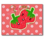 Je t'aimee, ma chausette kawaii a la fraise ♥
