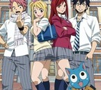 Fairy Tail high school