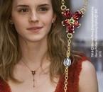 Le collier en cristal rouge d'Hermione Granger ♥