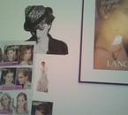 La déco de ma chambre ! Hermione/Emma/Harry forever ! ^^