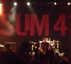 Concert Sum 41 26/11/11