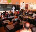 Visite d'une école à M'Bour