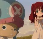 Haruna et chopper