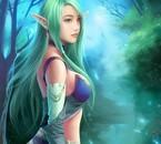 Un magnifique elfe.