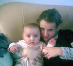 ma soeur  et mon bebe