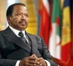 le président du cameroun