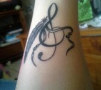 Voilà mon tatouage tout beau ^^
