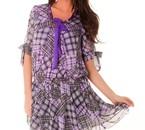 robe en voilage