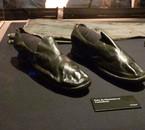 Chaussures ayant appartenu à un passager