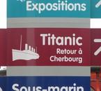 Titanic, retour à Cherbourg