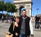 Photo à Paris avec mon homme