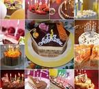 Session gâteau d'anniversaire