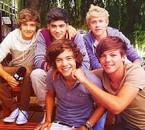 Mes 5 boyfriends :)