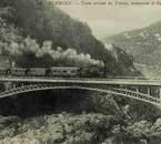 chemain de train el ourrite en 1952.