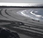 La plage au Saintes Maries de la mer