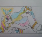 Yuki et la princesse Célestia