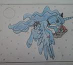 Princesse Luna et une jeune licorne