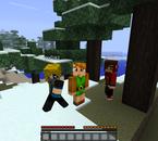 Moi sur Minecraft - 1