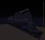 Train grâce au mod qui s'étend sur plusieurs bloc